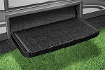 Wraparound Step Rug Black, 2-1072
