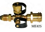 Marshall Excelsior Propane Adaptor Regulator ME425