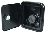 Locking Fresh Water Inlet Hatch Black, JFE-13-A