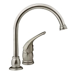 Designer Series Kitchen Faucet Satin Nickel Finish, DF-NMK301-SN