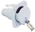 Lockable Slideout Fresh Water Inlet Polar White, 37525