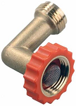 90 Degree Brass Fresh Water Hose End Protector, 62235