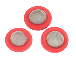 3pk Fresh Water Hose Washer Red, W1526VP