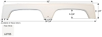 Icon Fender Skirt FS2755 Polar White 64 3/4