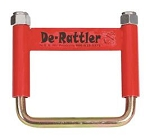 Trailer Hitch Receiver Tube Anti Rattle Bracket, De-Rattler Red