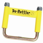 Trailer Hitch Receiver Tube Anti Rattle Bracket, De-Rattler Yellow