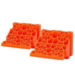 2 Pack  Stop 'N Chock Orange,  00018 - 2 PK