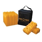 LEVEL TREK Trailer Stabilization Leveling Block - 12 pack