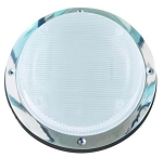 Round Porch Light Black Frame, 016-SL2000B