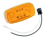 Bargman 58 Series LED Clearance/Side Marker Light - Amber  (47-58-032)