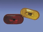 Fasteners Unlimited Side Marker Clearance Light - Amber 003-53P