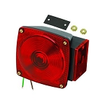 6 Way Right Hand Tail Light Red, 2523073