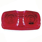 Clearance Side Marker Light with Red Lens by Peterson # V138R