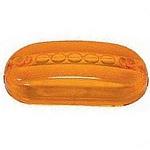 Peterson Side Marker Clearance Light Replacement Lens - Amber  (134-15A)