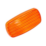 Bargman 58 Series Side Marker Clearance Light Amber Lens Only (34-58-012)