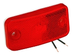 Bargman 178 Series Clearance Side Marker - Red Lens (34-17-808)