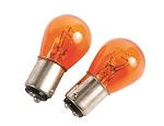 2pk Incandescent Multi Purpose Light Bulb Amber, 54811