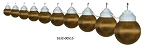 Party Globe String Lights Bronze, 16-32-00515