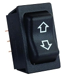 Slide Out Switch Black, 12295