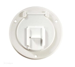 Power Cord Hatch Polar White, RV Designer B120