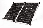 Go Power 130 Watt Portable Solar Kit, GP-PSK-130