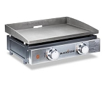 Blackstone 22 Inch Gas Tabletop 2 Burner Griddle, 1666