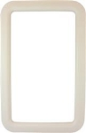 Entry Door Exterior Window Frame - Ivory