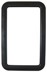 Entry Door Exterior Window Frame - Black