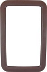 Entry Door Exterior Window Frame - Brown
