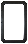 Entry Door Interior Window Frame - Black