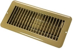 Floor Heating / Cooling Register With Damper Tan, 02-28975
