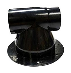 Sewer Vent Cap Black, VUJB