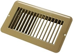 Floor Heating / Cooling Register Without Damper Tan, 02-28955