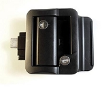 Fastec Travel Trailer Lock, Black