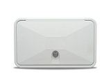 Multi-Purpose Access Hatch, Key Lock, Polar White