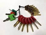 RV Master Key Set, 18 Keys For Dealers, Repair Shops and Locksmiths Only, MK18