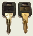 1 Pair (2 keys) FIC Precut Keys HF301 through HF351, CF EF and HF