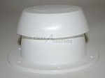 Sewer Vent Cap Colonial White, 10002-C