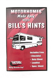 Motorhomes Made Easy with Bill's Hints, A02-3000