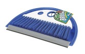 Dust Pan with Whisk Broom Blue, 43945