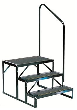 Econo Porch 2 Manual Folding Steps, EHS-102-R