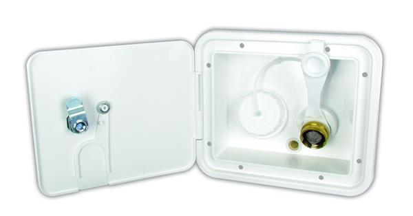 Locking Fresh Water Inlet Hatch Polar White, K7112-6-A