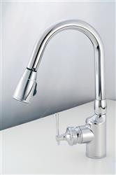 American Brass Kitchen Faucet - Chrome Finish