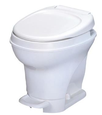 Aqua Magic V Thetford Toilet, White Pedal Flush 31671
