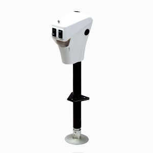 White Electric Tongue Jack
