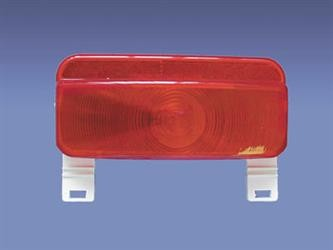 Compact Tail Light with License Plate Bracket  by Command # 003-81L