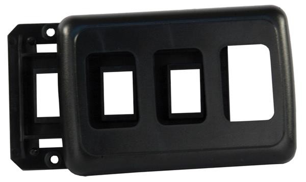 Switch Faceplate Black, 12325