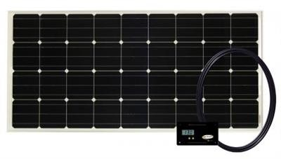 Go Power Overlander 190 Watt Solar Kit, 82181