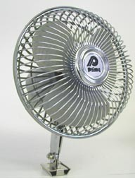 12 Volt Tower Style Fan with Oscillating Head, 06-0600