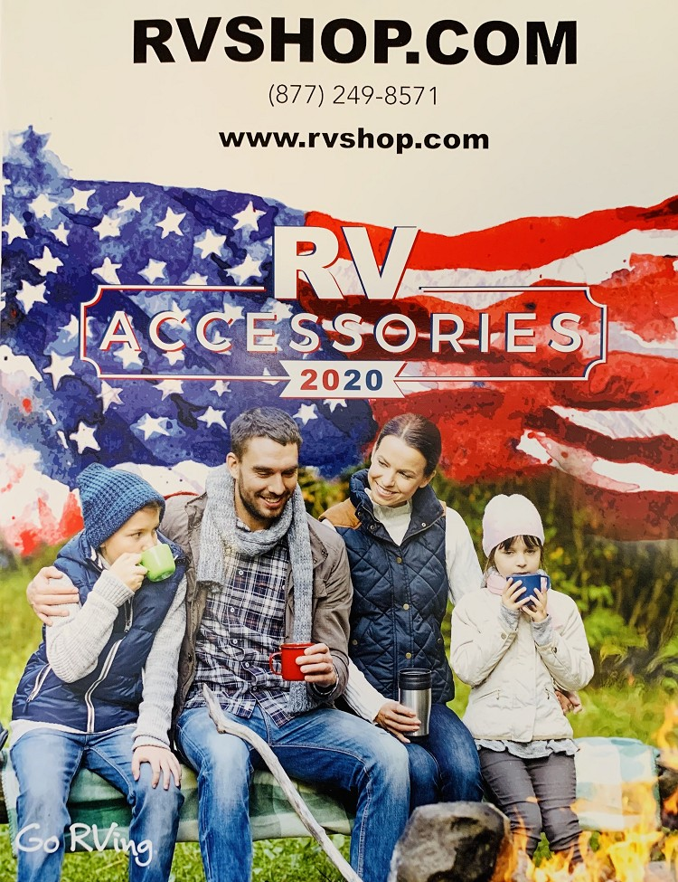 2020 RVShop.com Parts & Accessories Catalog and $20.00 Coupon
